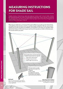 Guide to Measuring a Shade Sail